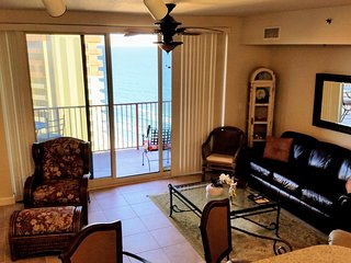 Very Clean 23rd Floor 2 bedroom, ALL TILE!  Reserved parking Space, Panama City Beach