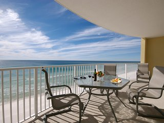 NEW CONTEMPORARY GULF-FRONT CONDO!  AMAZING ROUNDED BALCONY!  BOOK NOW & SAVE!, Panama City Beach