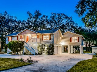 Dog-friendly, waterfront home along the St. Johns River -2  docks
