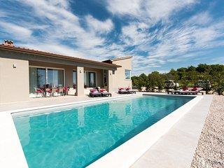 Villa Anton with pool, WiFi near Labin