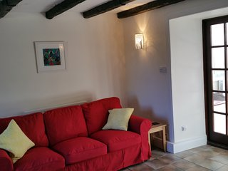 Traditional Scottish cottage refurbished to modern standards.