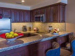 Vista de la cocina totalmente equipada