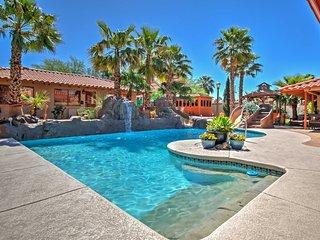 5BR Las Vegas House w/ Optional 2BR Casita & Pool!