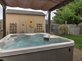 Saco Studio Apt. w/ Spacious Backyard and Hot Tub!