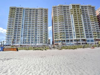 NEW! 1BR North Myrtle Beach Condo w/Pool -On Beach