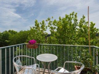 Trastevere Large Apartment Balcony