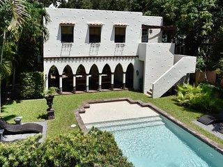 Historic 2 Bdrm. Dramatic Pool Villa W/ Fire place