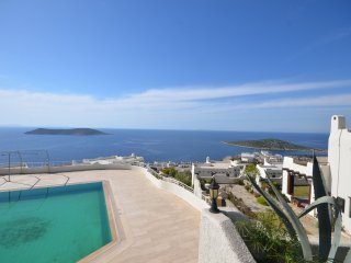 Bodrum Gümüşlük Apartment With Shared Swimming Pool # 830