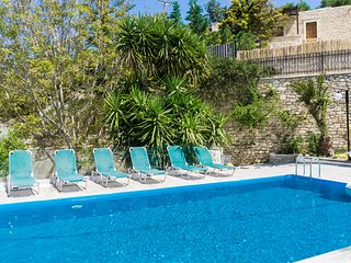 Newly built Villa surrounding with a beautiful garden, pool & barbecue, Asteri