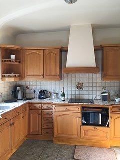 Cosy kitchen to prepare light snacks
