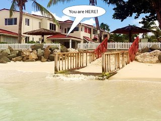 'LITTLE BAY VILLA'  1100sqft BEACH FRONT, SEA VIEW APARTMENT ON DICKENSON BAY!