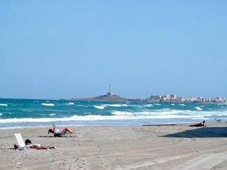 An idyllic beach, Cabo de Palos - La Manga