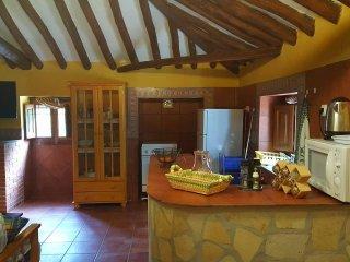 Your kitchen area here at La Rondana.....