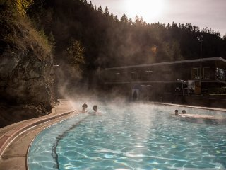 Radium Hot Springs, Bighorn Meadows Resort 1 Bedroom Condo