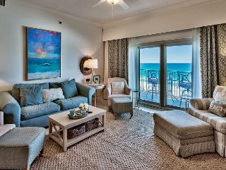 Freshly Updated Tops'l Condo with Stunning Panoramic Views of the Gulf!