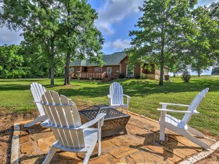 New! Private Lakefront 4BR Home w/ Dock & Hot Tub!