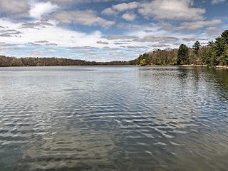 New! Lakefront 2BR Balsam Lake Cabin w/Private Dock