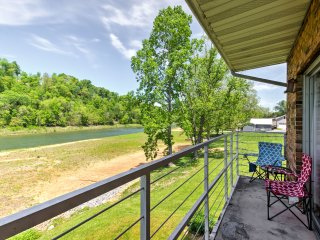 NEW! Riverfront 1BR Bluff City Apartment w/Balcony