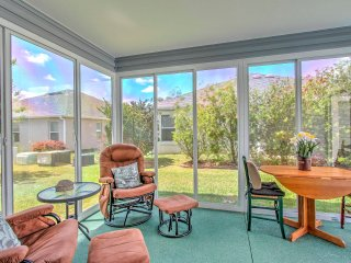 New! 3BR The Villages Cottage w/ Enclosed Lanai!