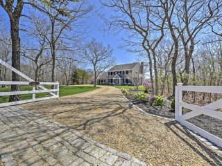 NEW! 3BR West Tisbury w/Hot Tub & Horse Paddock!