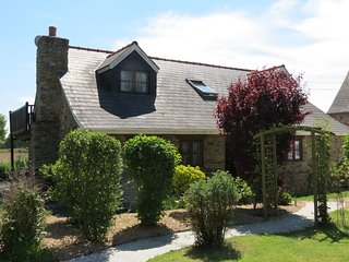 Charming rural cottage with shared pool and spa 45 kms from Rennes