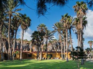 Hoya del Pozo un lugar único rodeado de palmeras con acceso directo a la playa