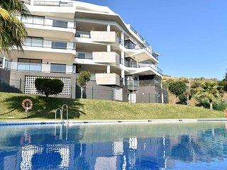 Piso para alquiler vacacional en Riviera del sol con vistas al mar