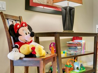 Ohana Pool Villa, even Minnie Mouse loves our Villa near all Parks and Golf.