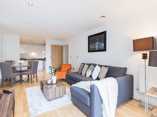 Modern 2 Bed Greenwich Riverside Apartment