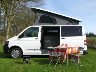 vw campervan hire - our newly converted luxury campervans based near edinburgh