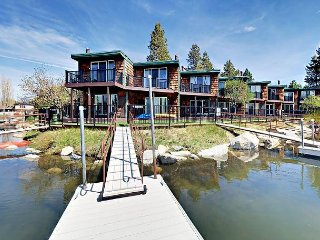Newly Remodeled 3BR Tahoe Keys Condo w/ Private Boat Dock, South Lake Tahoe