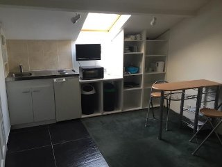1st Floor Double Bed Suite, Kitchenette, Shower Toilet, Washer & Dryer