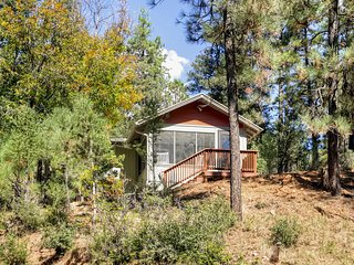 Beautiful 1BR Ruidoso Cabin w/Private Hot Tub