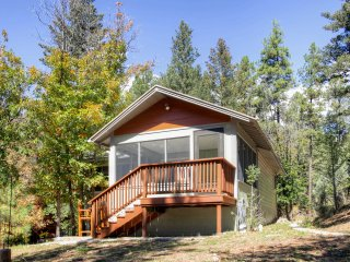Beautiful 1BR Ruidoso Cabin w/Private Hot Tub!