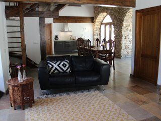 Delux apartment (6p.) in 300 year old mill complex