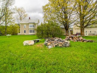 Farmhouse duplex on lovely mountain view property - close to skiing, 1 dog OK!