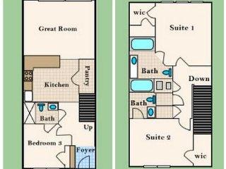 Windsor Hills   Town House 3BD/3BA   Sleeps 8   Gold - RWH302