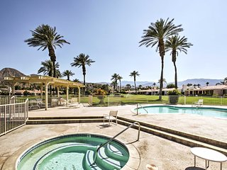 NEW! 3BR Indian Wells Condo w/ Patio & Mtn Views!