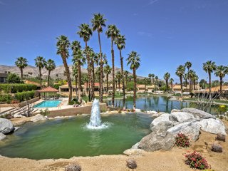 NEW! 2BR Palm Desert Villa w/ Mtn & Lake Views!
