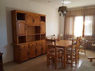 Bonita casa rústica para 7 personas a 5 min de la playa