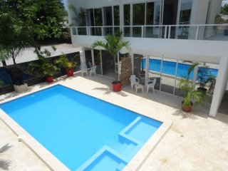 Studio in the center of the village, 100m from the sea, Las Terrenas