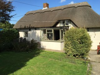 Thatched cottage, New Forest, luxurious