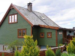 Wooden house by the fjords - Acu Rem Tetigisti