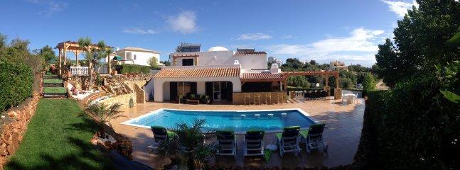 Stunning view of villa