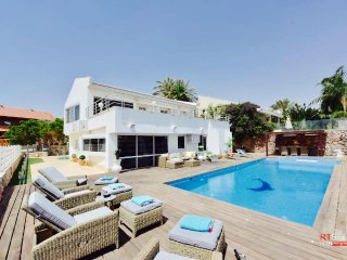 New Beautiful Villa, Sea View, 10 persons, Eilat