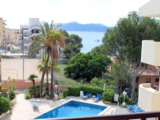 Superb one bedroom apartment with sea views, Santa Ponsa