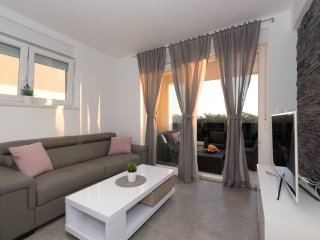 Villa Magnifica 1 luxury apartment with a pool, Novalja