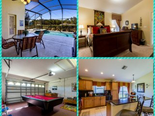 Hawks Nest Villa - Disney Area with Saltwater Pool, Clermont