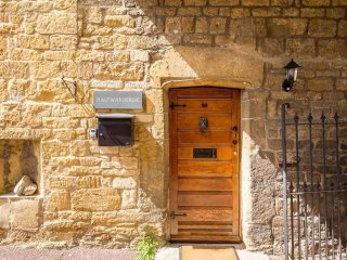 Step inside the front door...