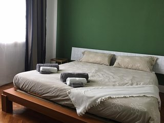 B&B POODLE HOUSE - GREEN ROOM